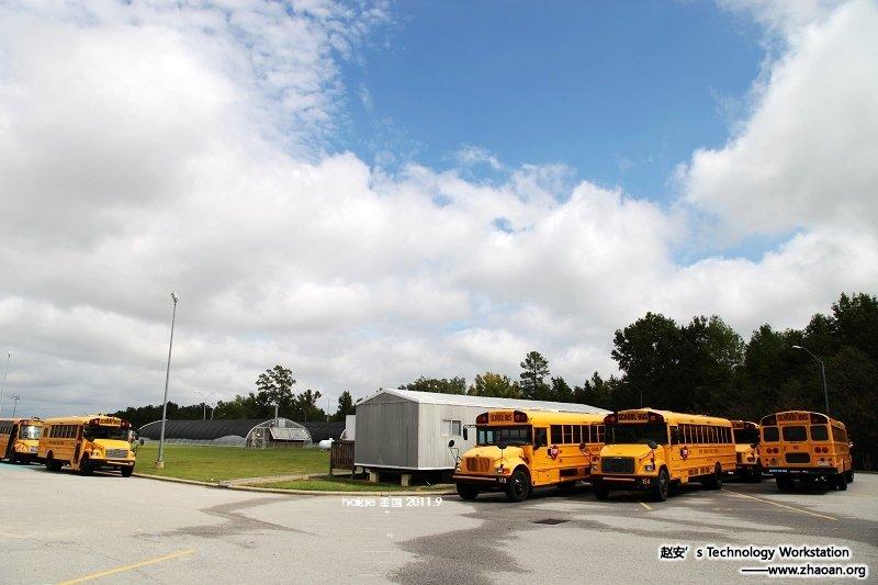 (原创摄影)零距离侃美国(1)——黄色特权车,安全有保障 - 海哥 - 海哥视觉