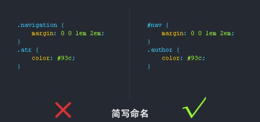 CSS书写规范及顺序